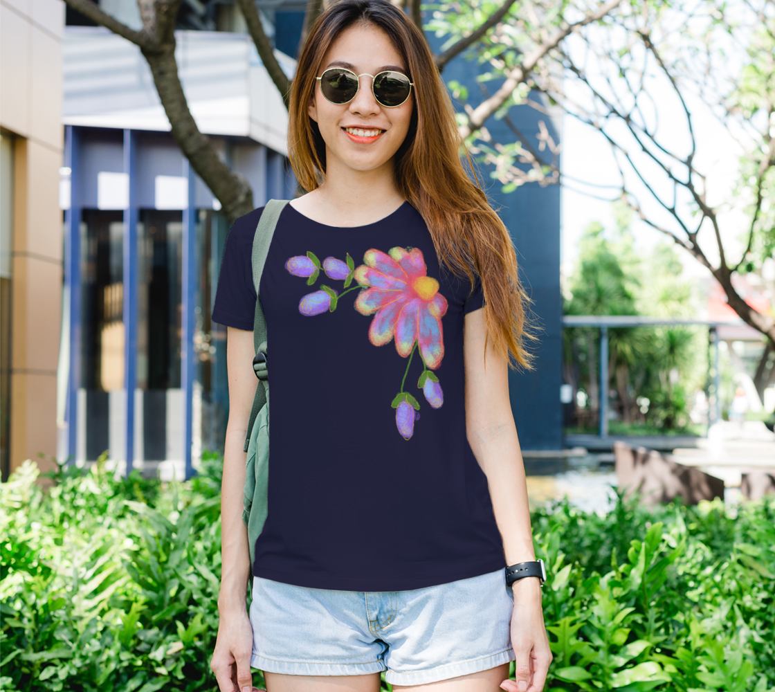 Original Abstract Floral Art to Wear preview
