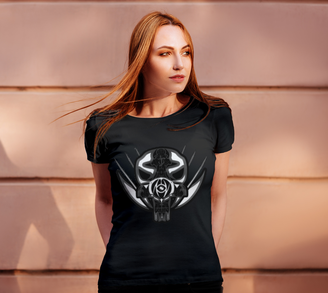 Ladies Specialist Skull Tshirt preview #4