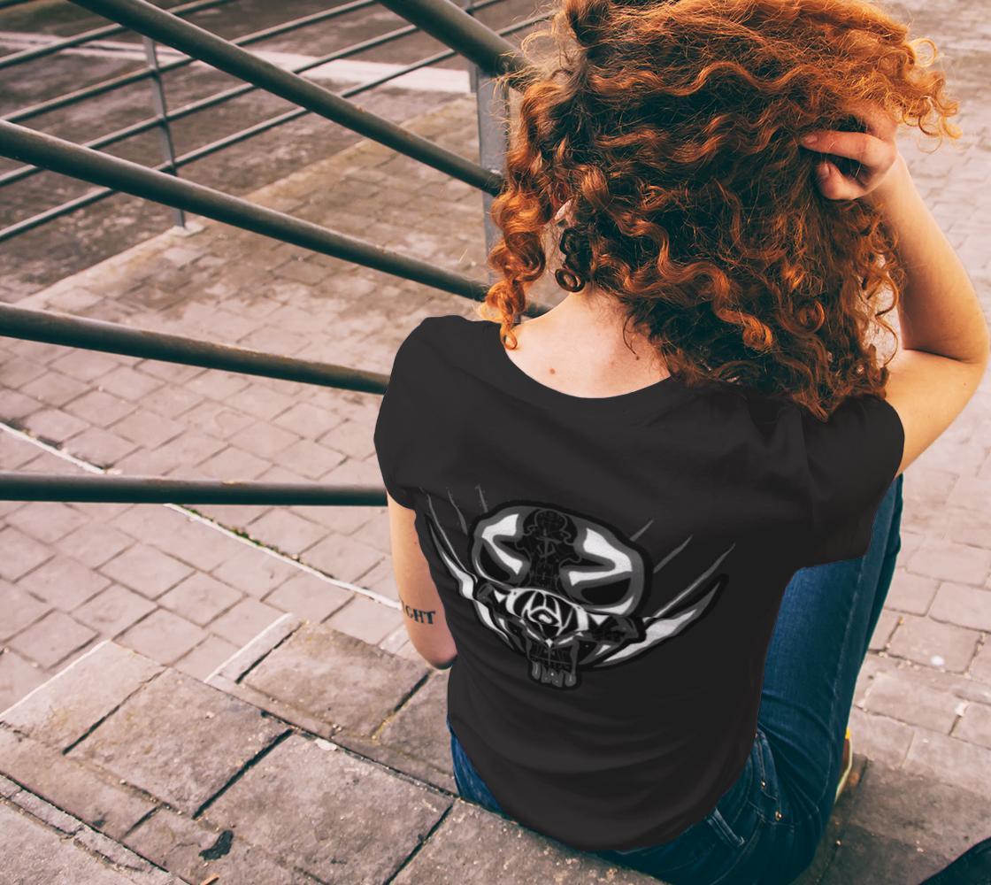 Ladies Specialist Skull Tshirt preview #6
