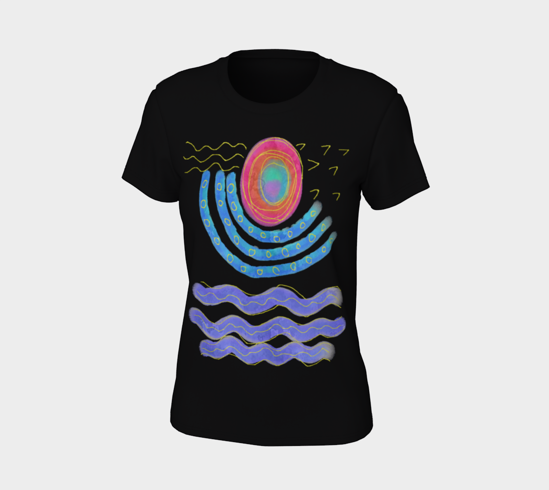 Original Abstract Art to Wear preview #7