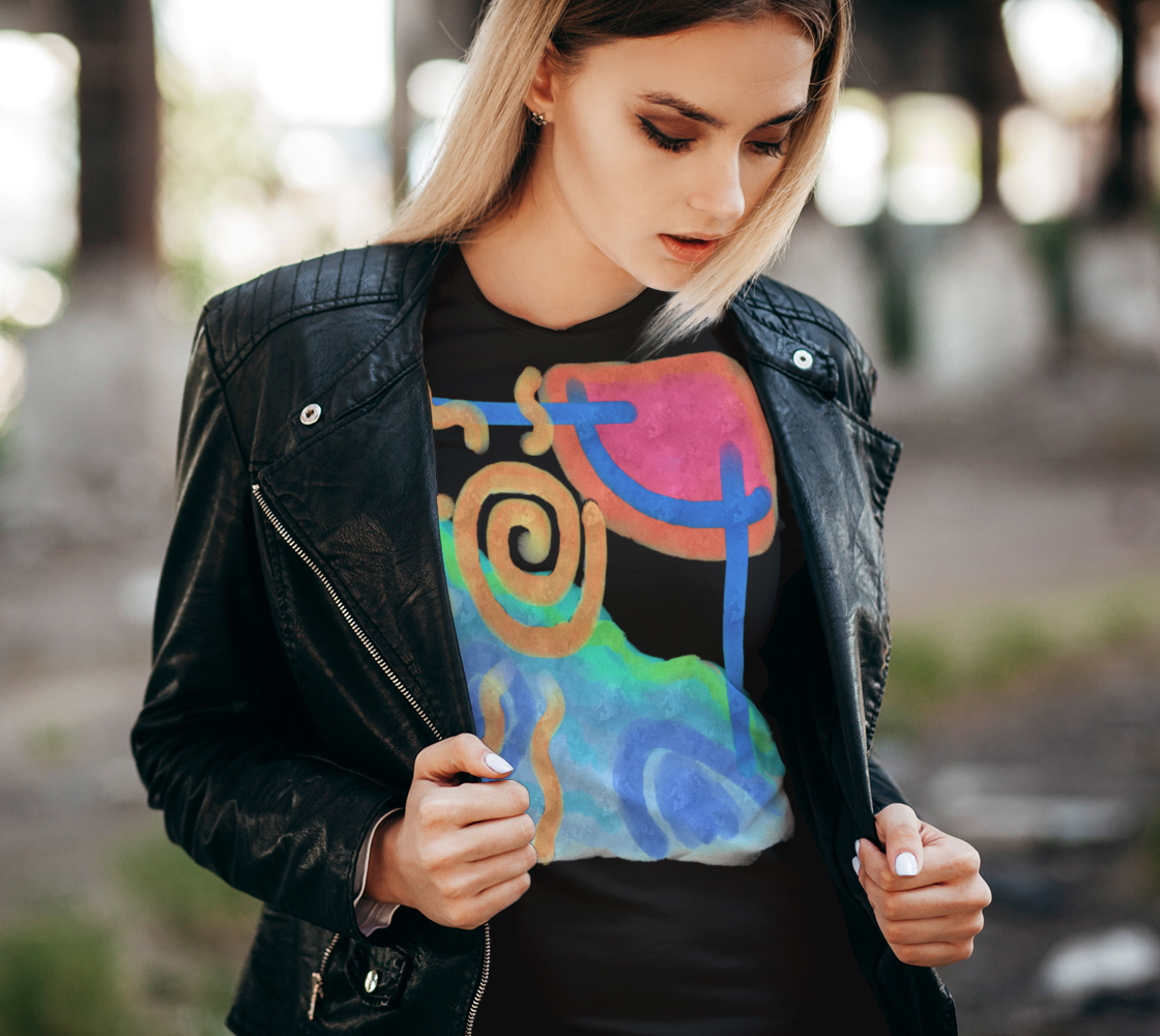 Original Abstract Art to Wear preview #2
