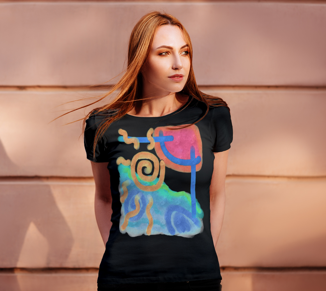 Original Abstract Art to Wear preview #4