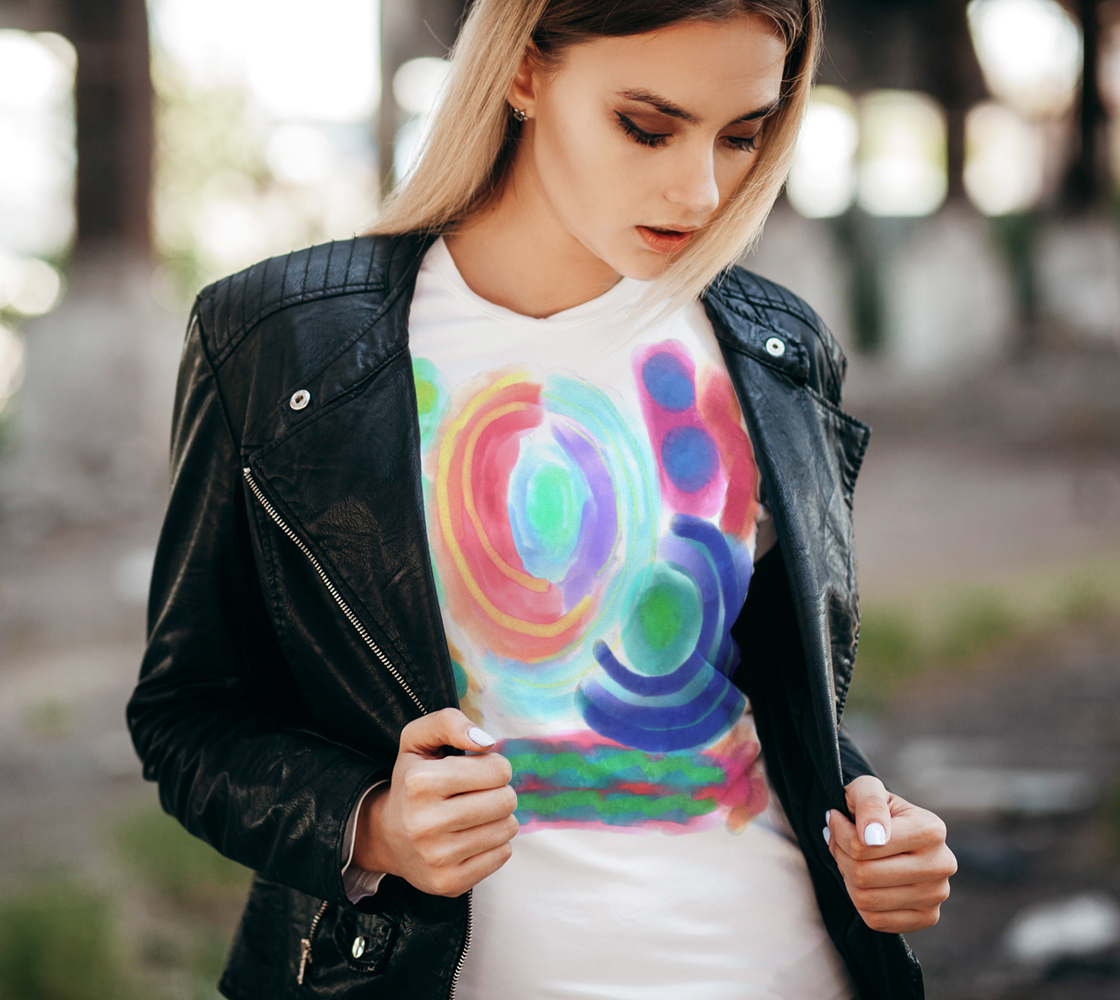 Funky Abstract Wearable Art preview #2