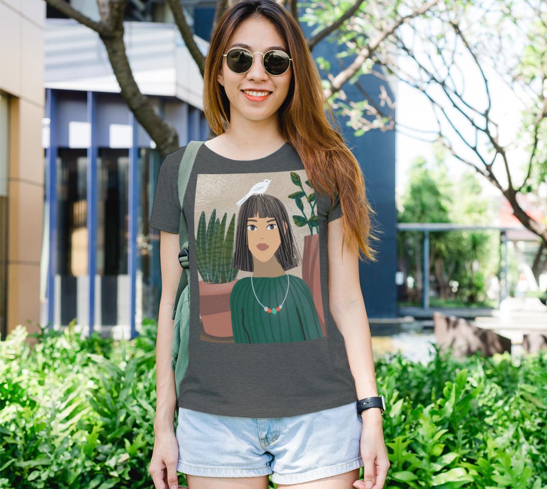 Aperçu de T-shirt best girl friend