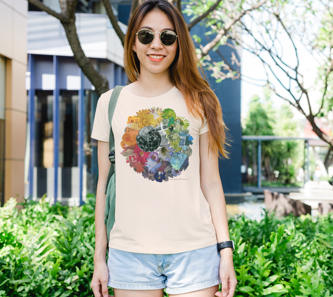 Moon Wheel - Women's Fit T-Shirt, Soft Cream preview