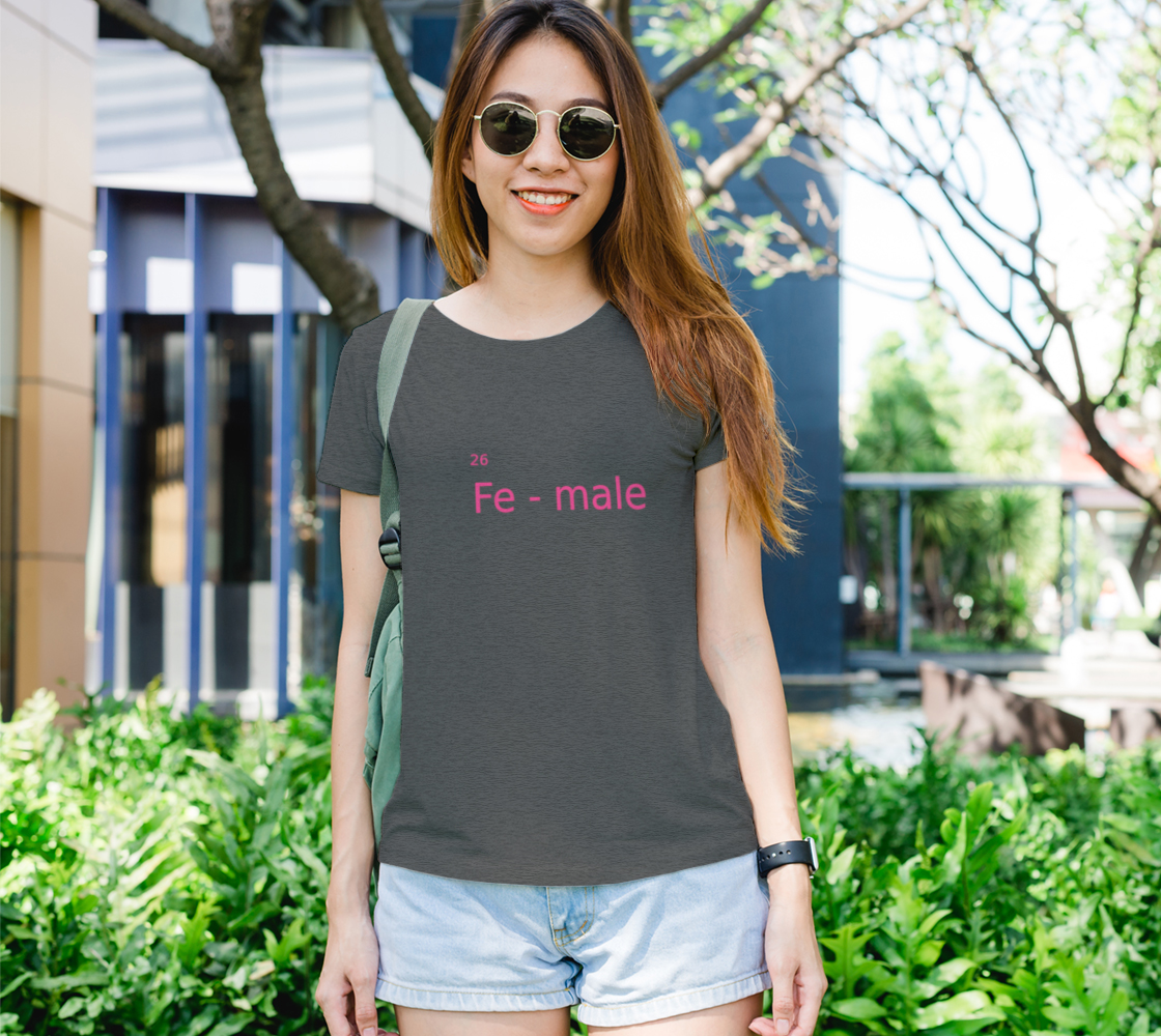 Fe-male in pink preview