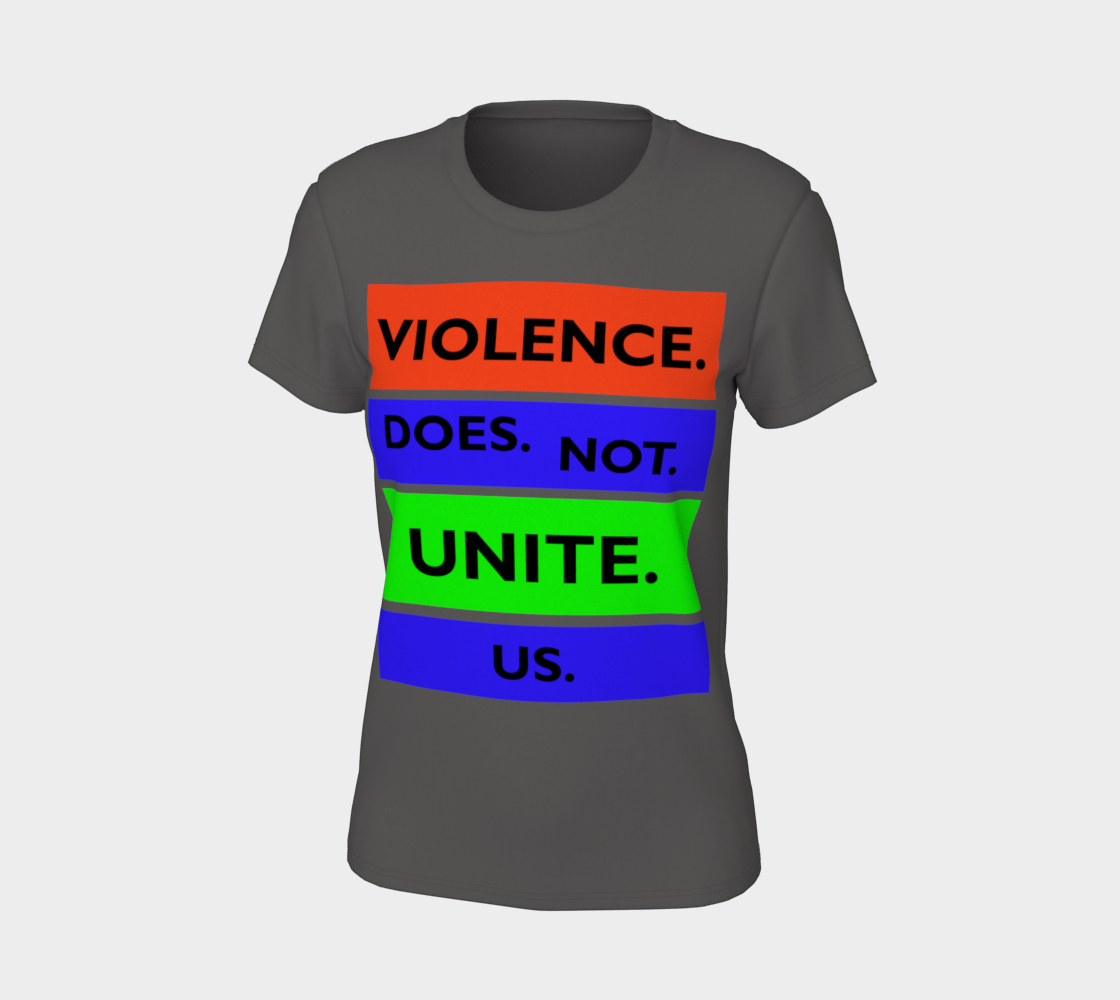 Violence Does Not Unite Us Period Women's Tee, AOWSGD preview #7