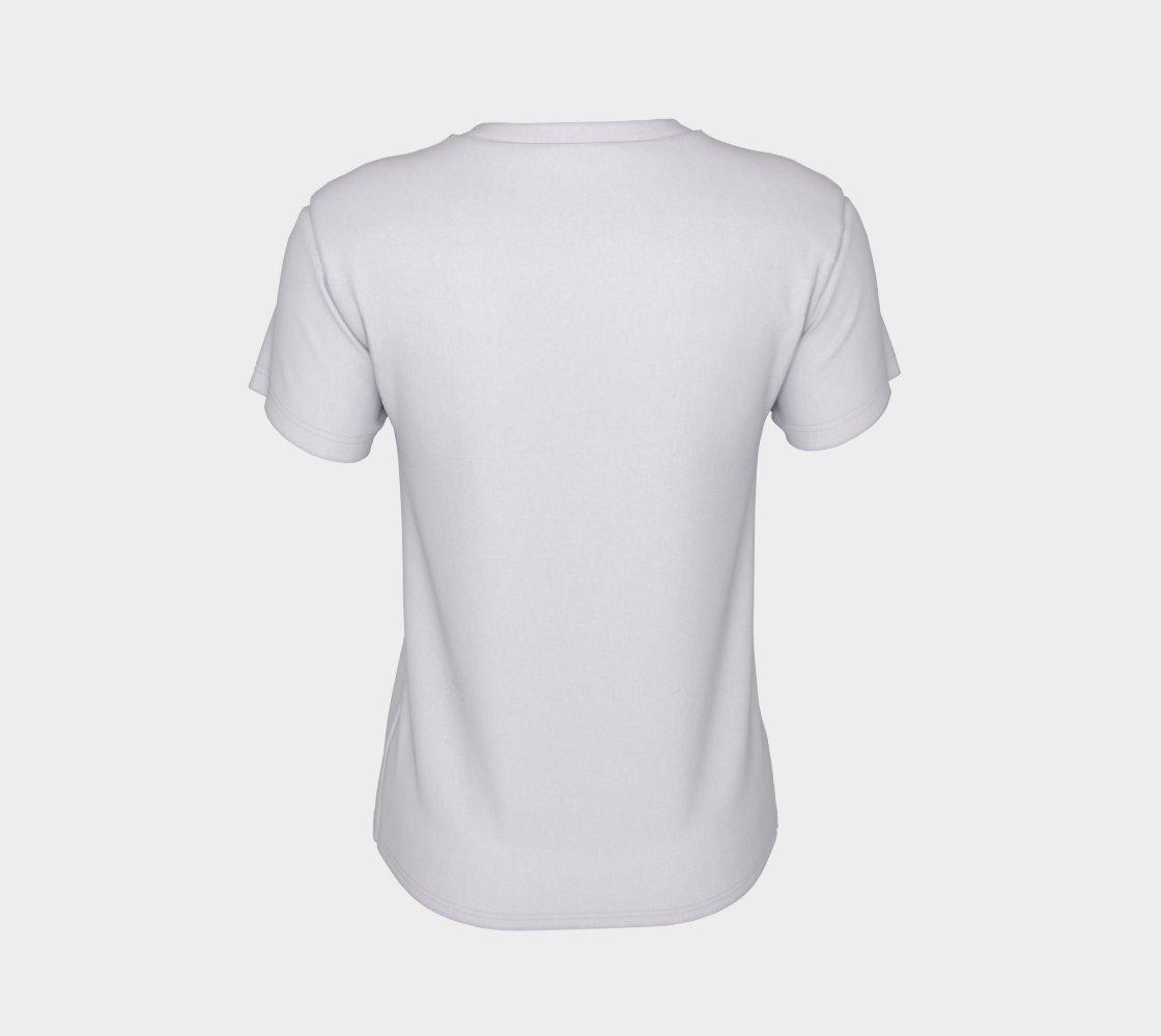 Support Your Local Artist - white tee, multicolour text preview #8