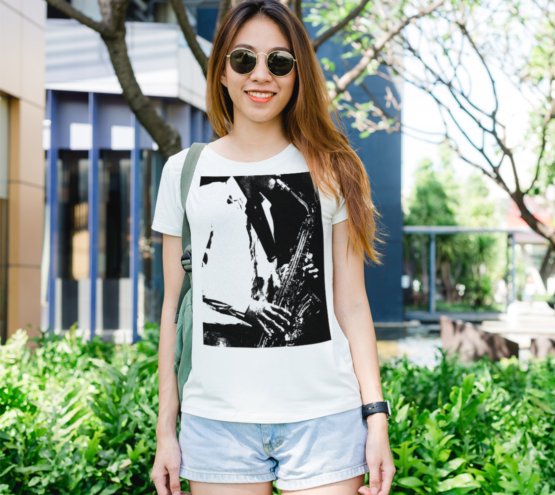 Saxophone Womens Tee preview