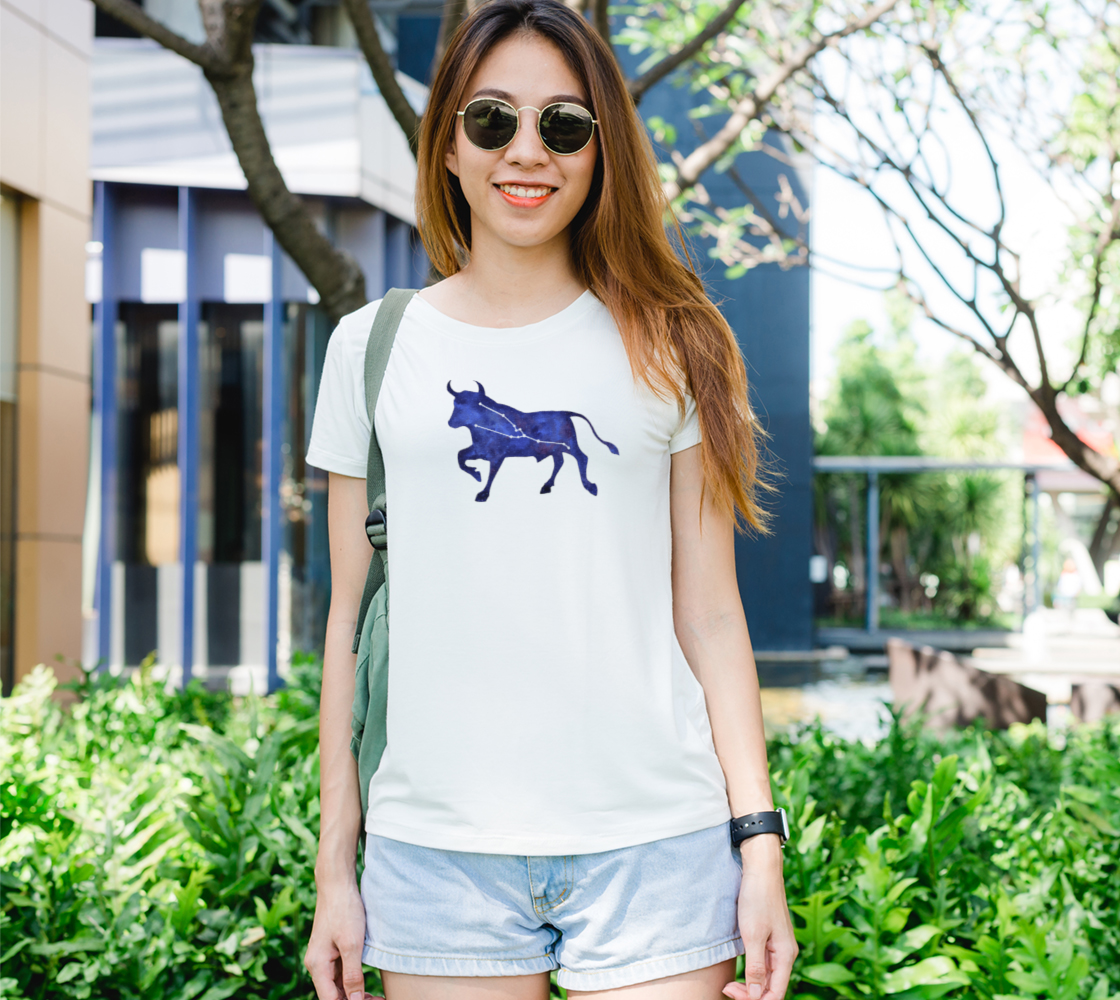Astrological sign Taurus constellation Women's Tee preview