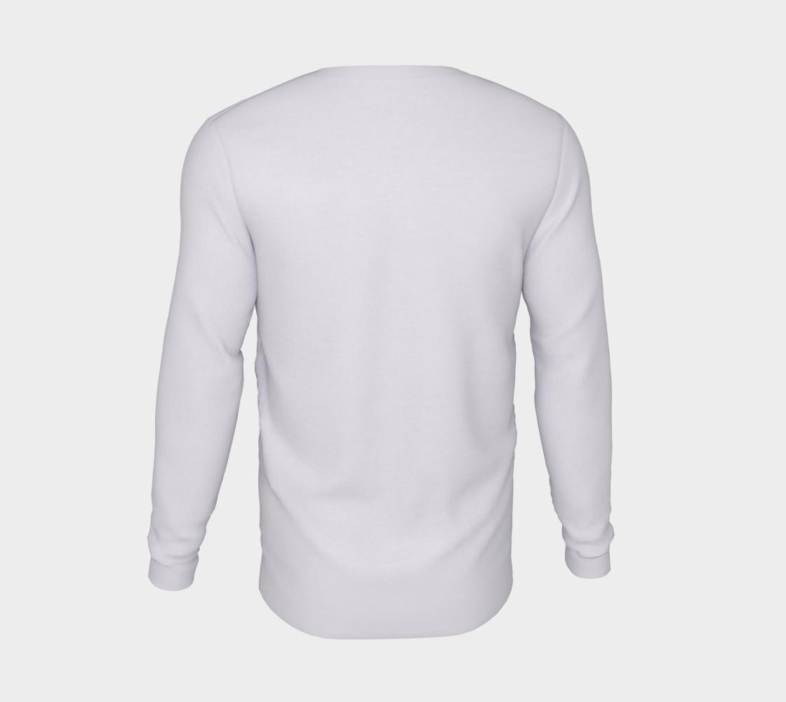 Tlingit Northwest Totem Art on White Long Sleeve T-Shirt preview #6