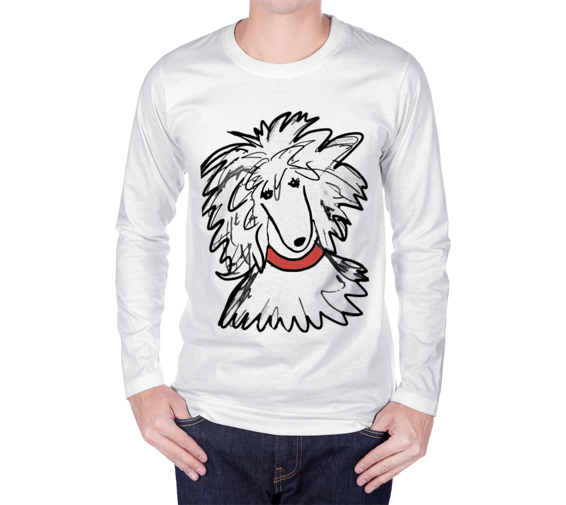 Long Sleeve Poodle Sergio shirt preview