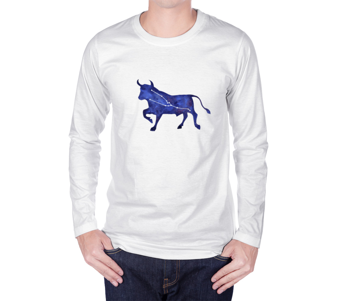 Astrological sign Taurus constellation Long Sleeve T-Shirt preview