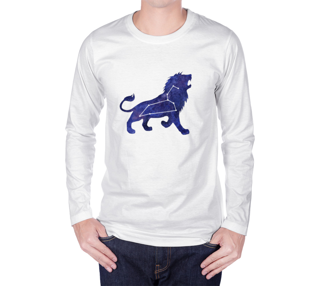 Astrological sign Leo constellation Long Sleeve T-Shirt preview