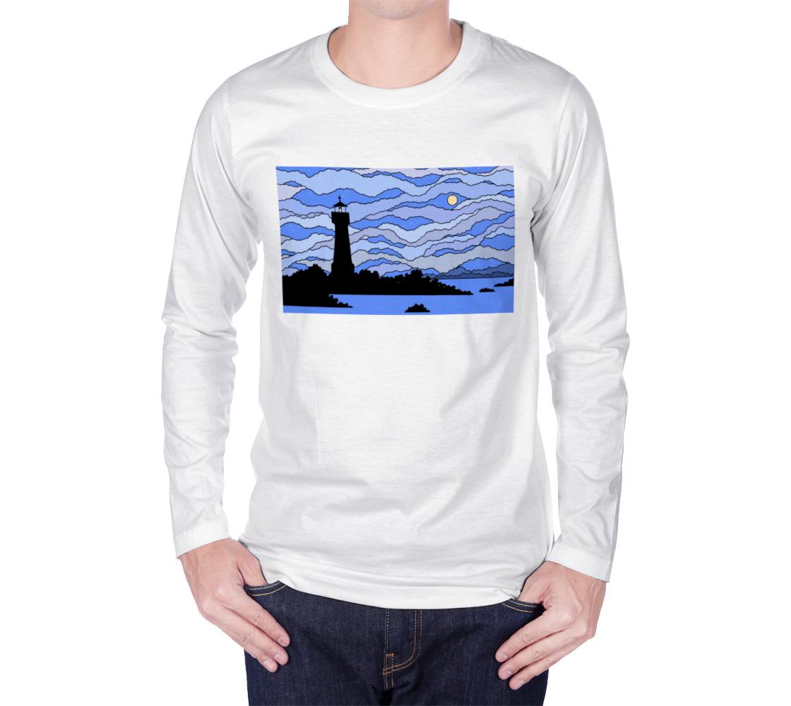 Lighthouse, dusk aperçu