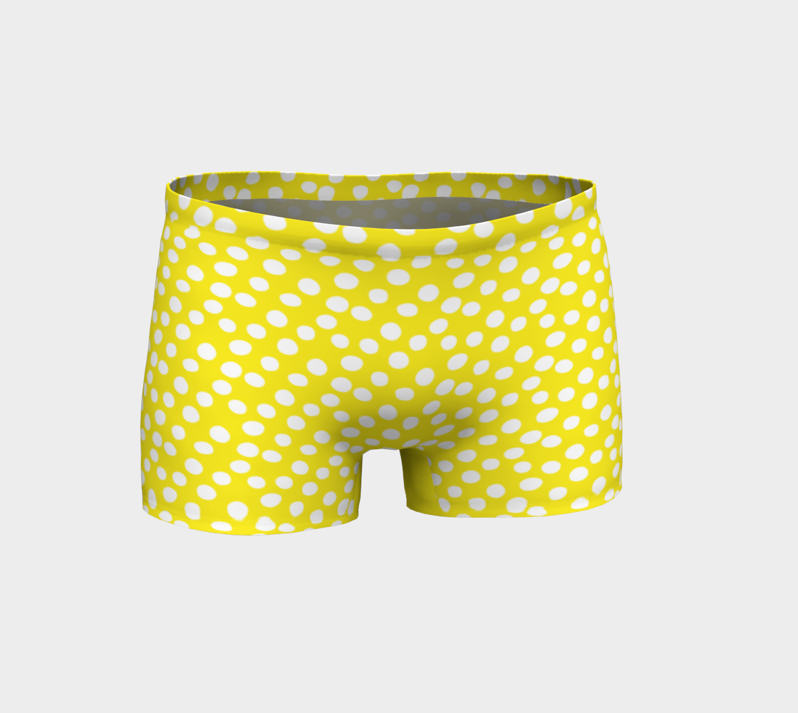 All About the Dots Shorts - Yellow preview