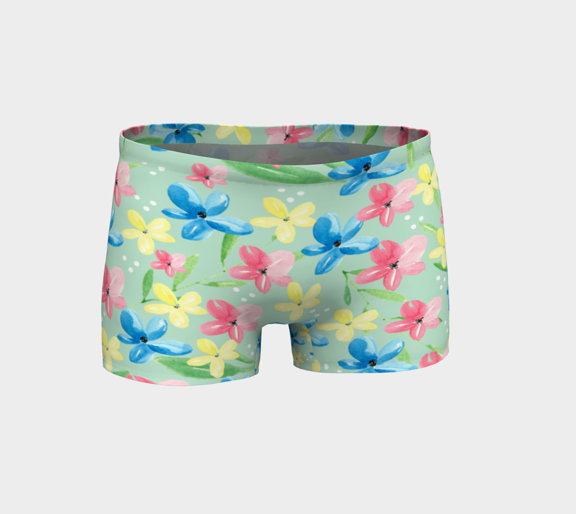 Floral Shorts preview #1