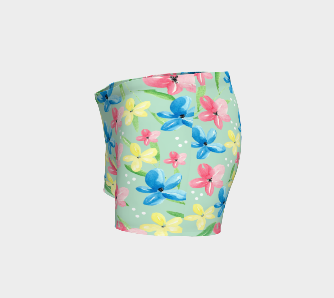 Floral Shorts preview #2