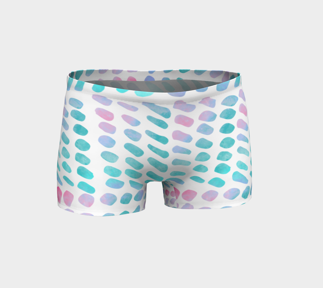 Pink and Blue Cotton Candy Shorts preview