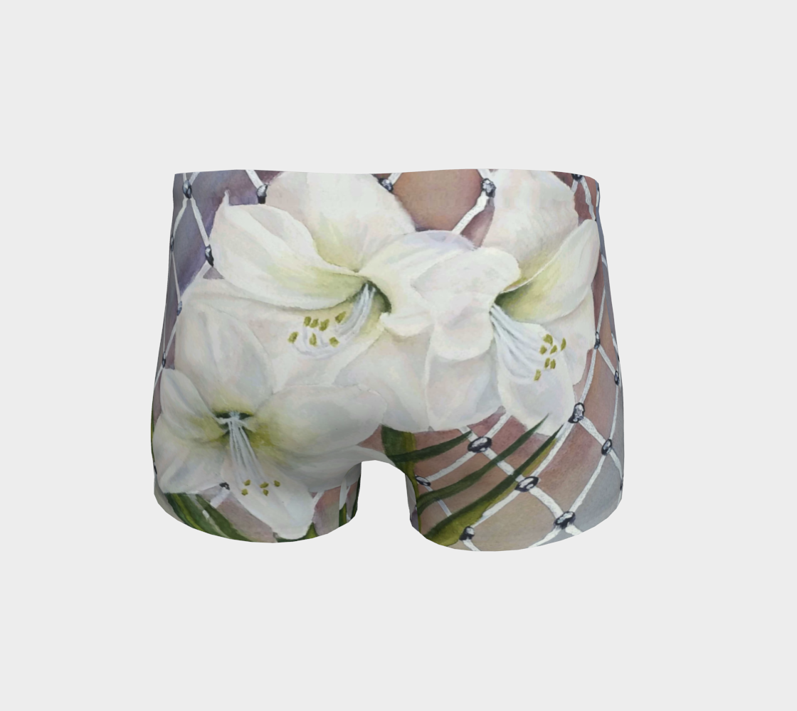 White Amaryllis Shorts preview #4