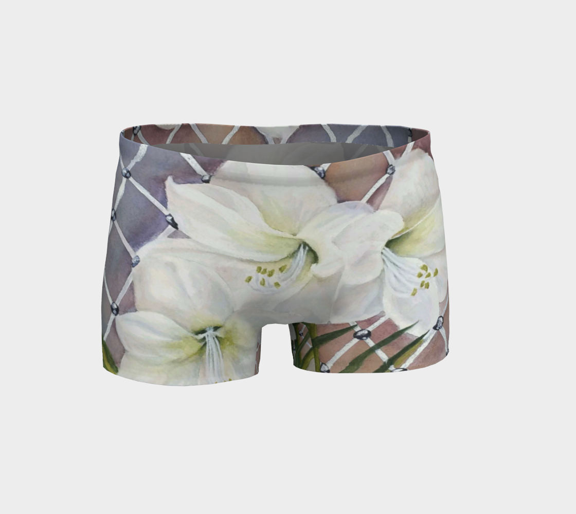 White Amaryllis Shorts preview #1