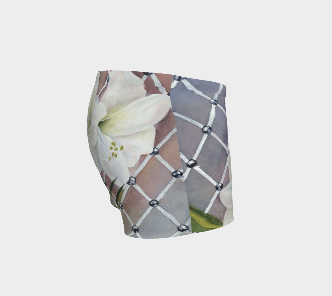 White Amaryllis Shorts preview #3