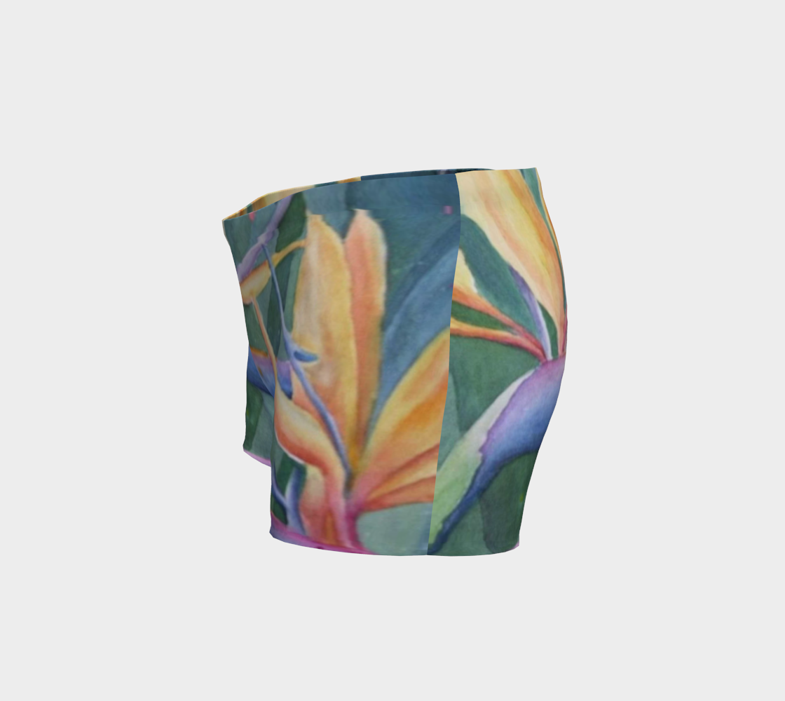 Tropical Bird of Paradise Shorts preview #2