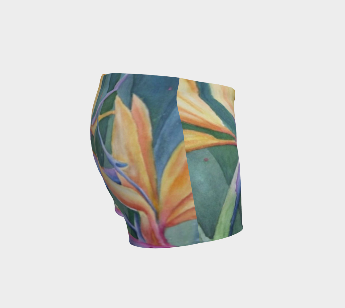 Tropical Bird of Paradise Shorts preview #3