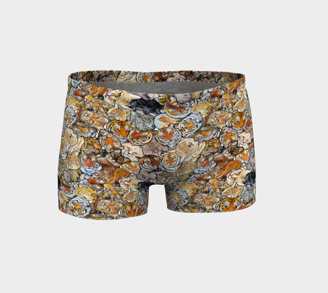 Aperçu de Big Cat Collage - shorts