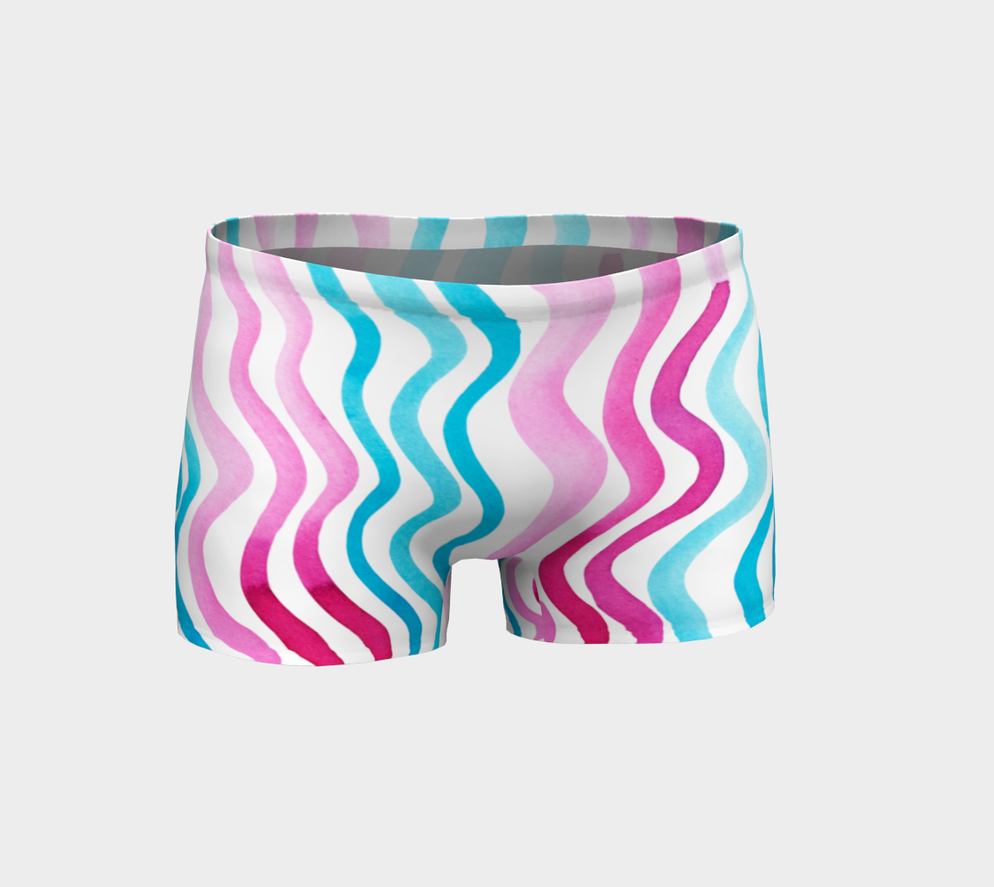 Wavy lines - pink and blue preview
