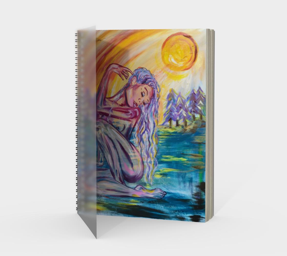 Priestess Gaia Spiral Notebook preview