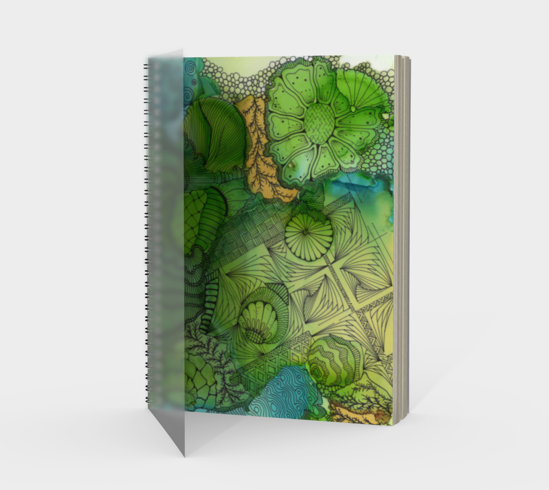 February Greens Note Book preview