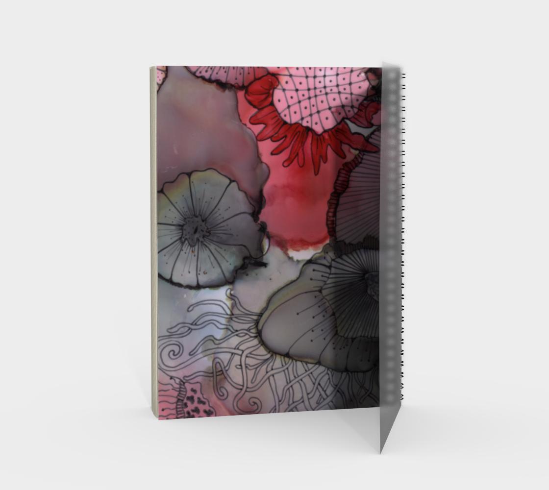 Black RedBerry Spiral Notebook, Portrait preview #2
