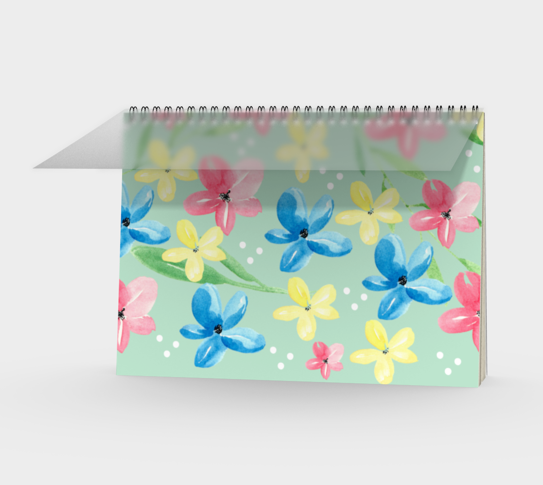 Floral Spiral Notebook preview