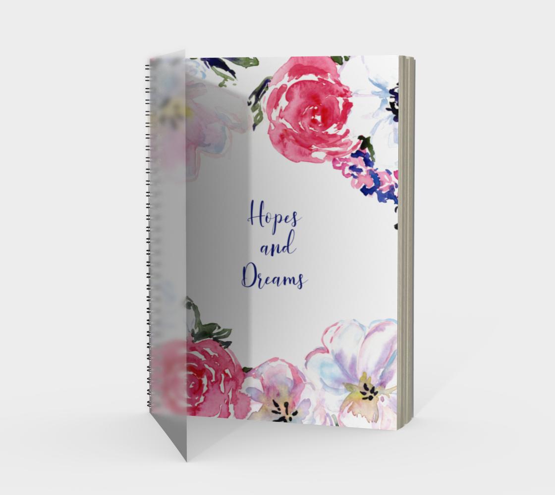 Aperçu de Hopes and Dreams Notebook Spiral