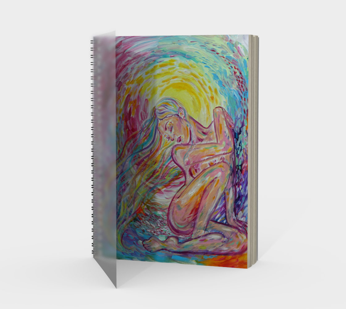 Down Shone the Sun Spiral Notebook preview
