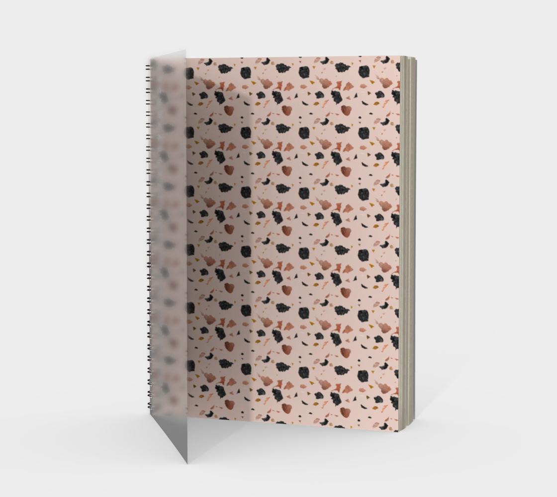Terrazzo vintage pattern design preview
