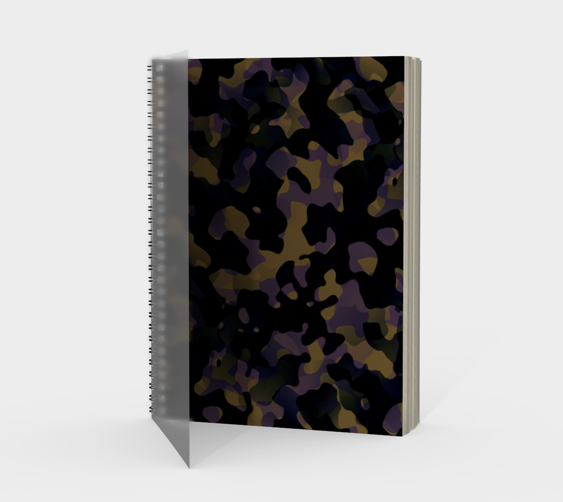Cahier a spirale Camouflage preview