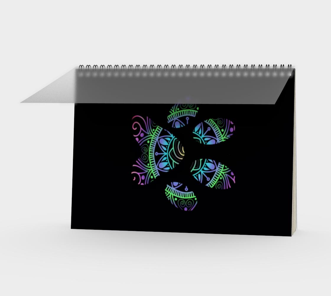 Aperçu de Paw Print Spiral Notebook