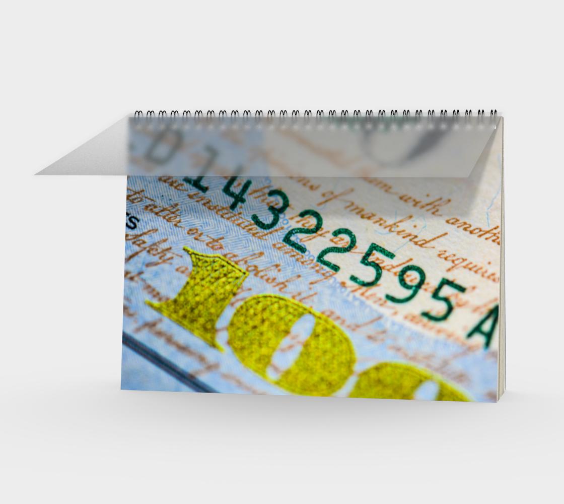 Aperçu de Money Down Spiral Notebook