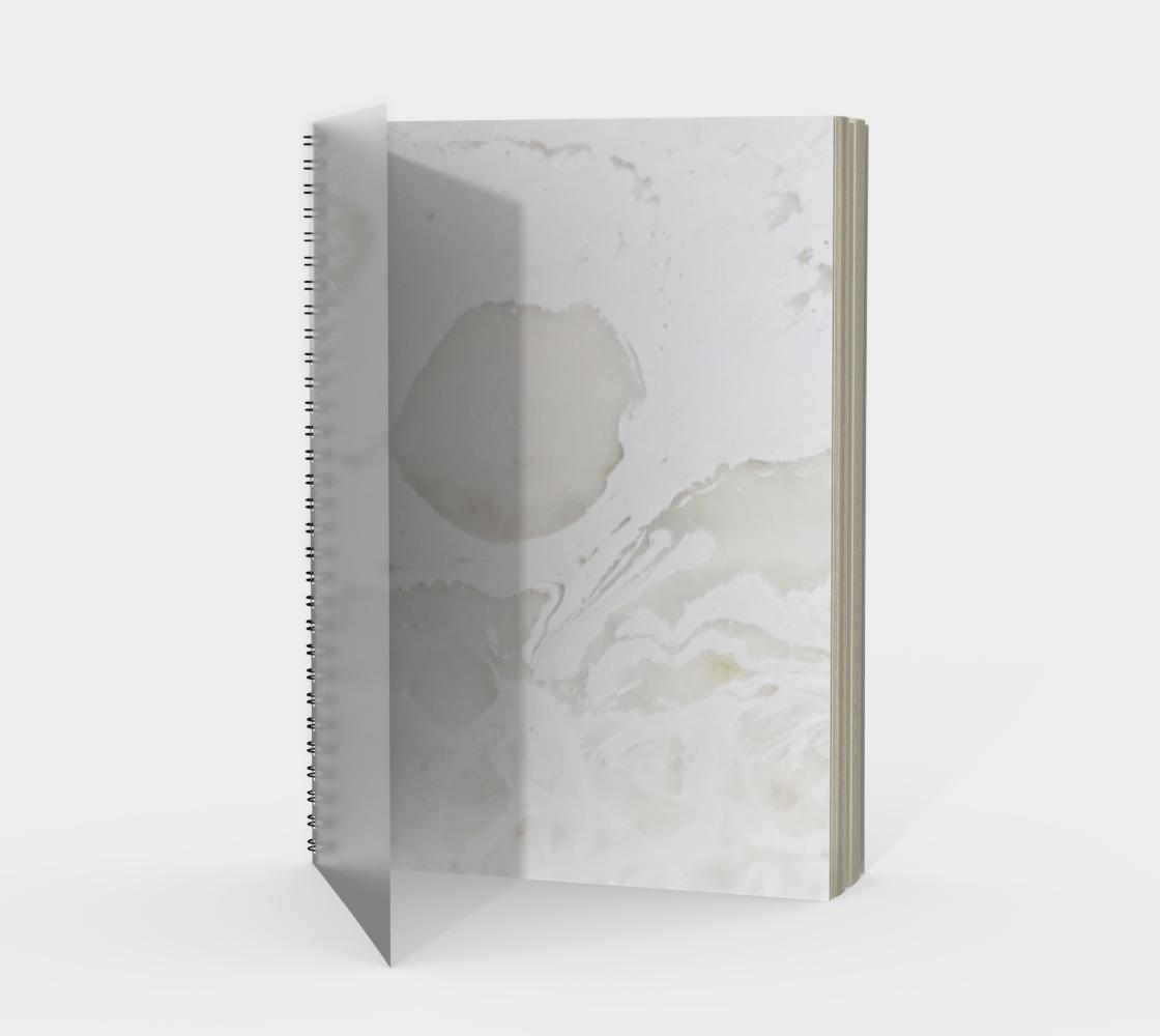 Carrara Spiral Notebook Portrait aperçu