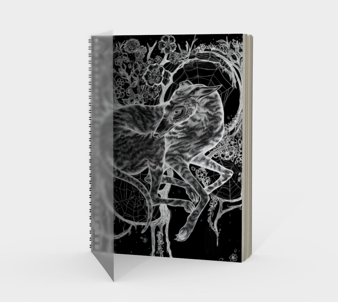 Greyhound Spiral Notebook preview