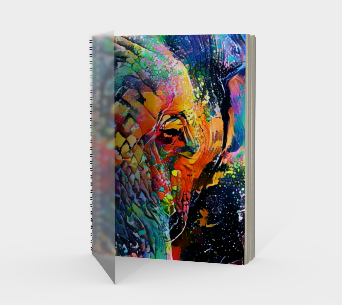 Wise Eyes Notebook preview