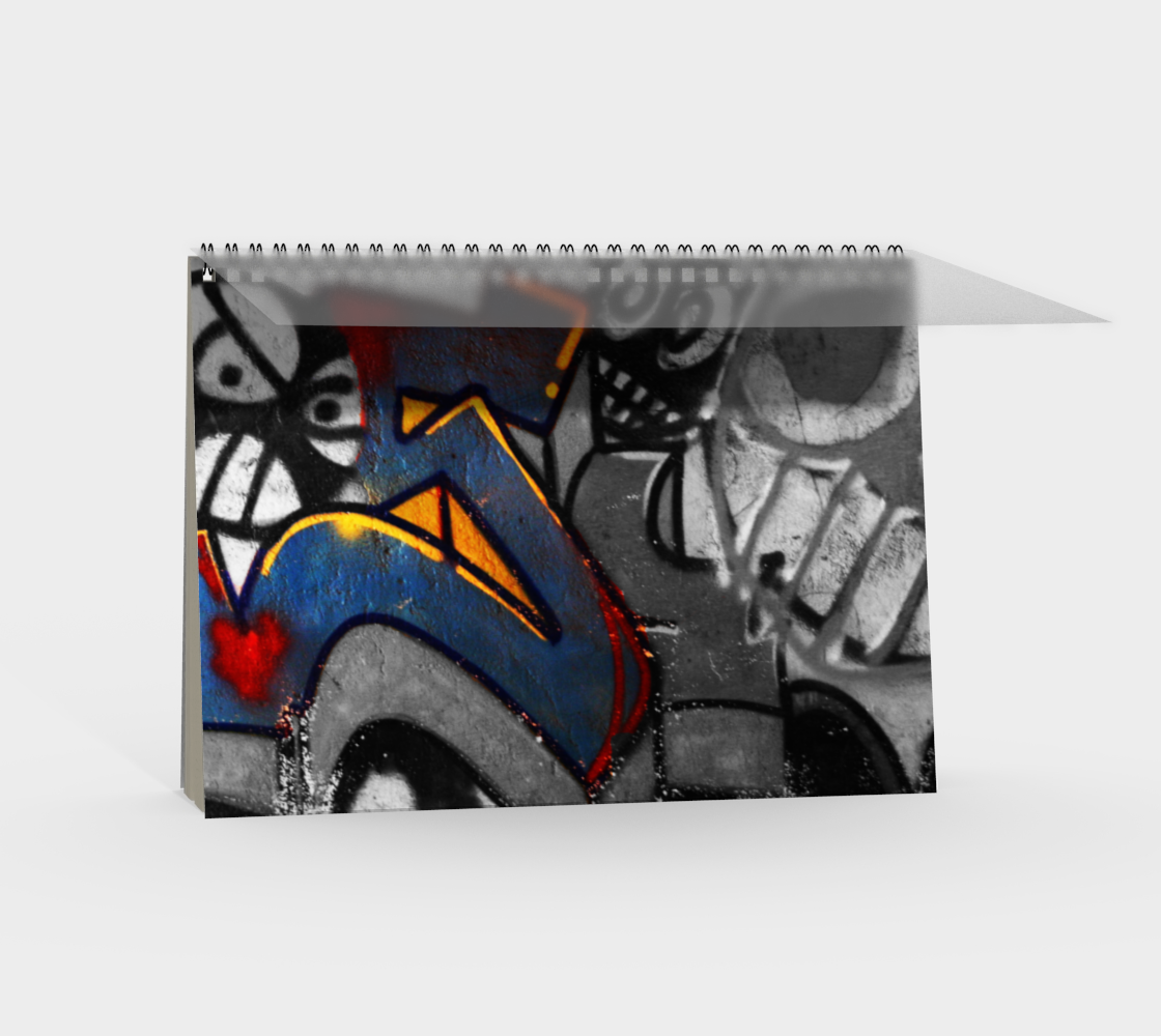 Graffiti 1 Spiral Notebook preview #2