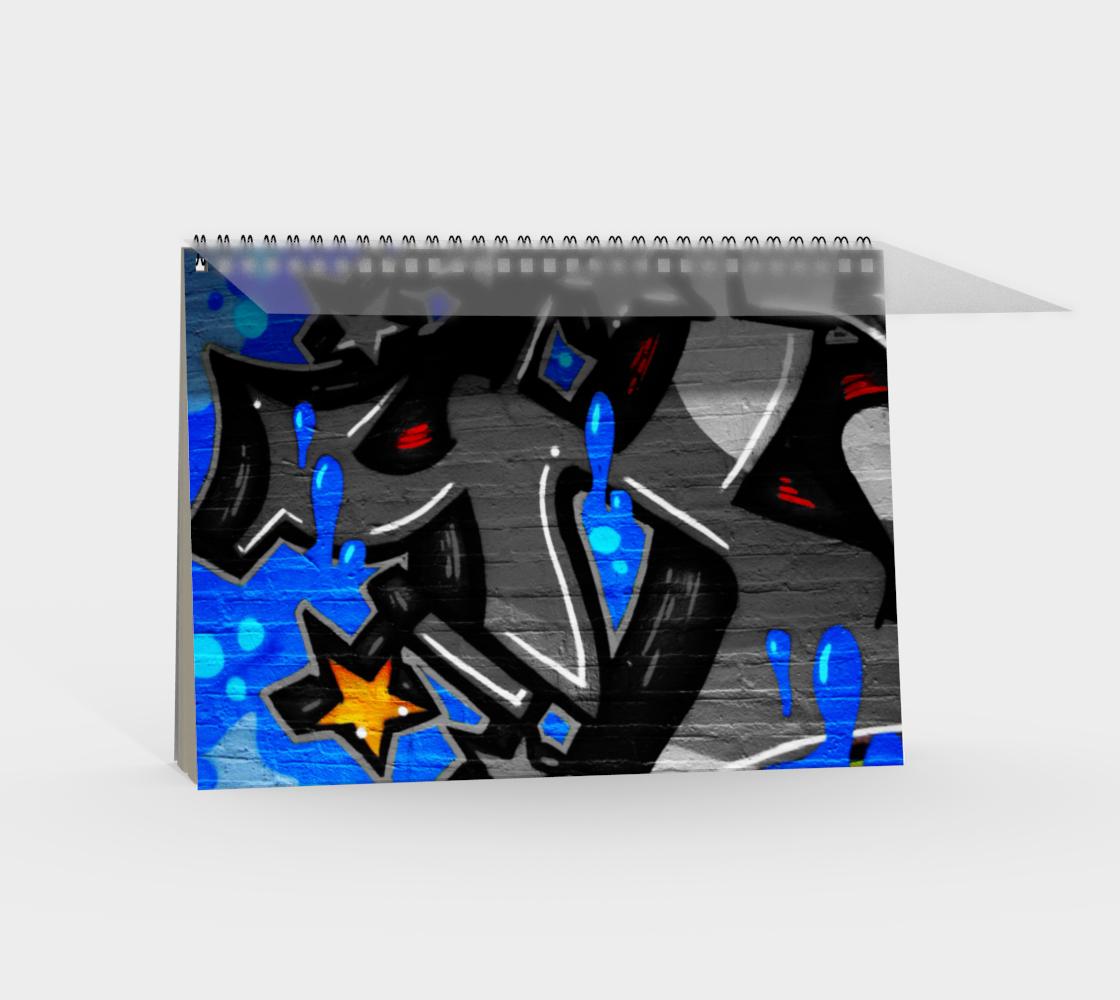 Graffiti 3 Spiral Notebook preview #2
