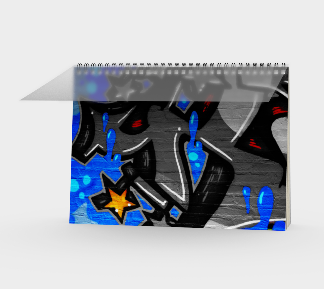 Graffiti 3 Spiral Notebook preview