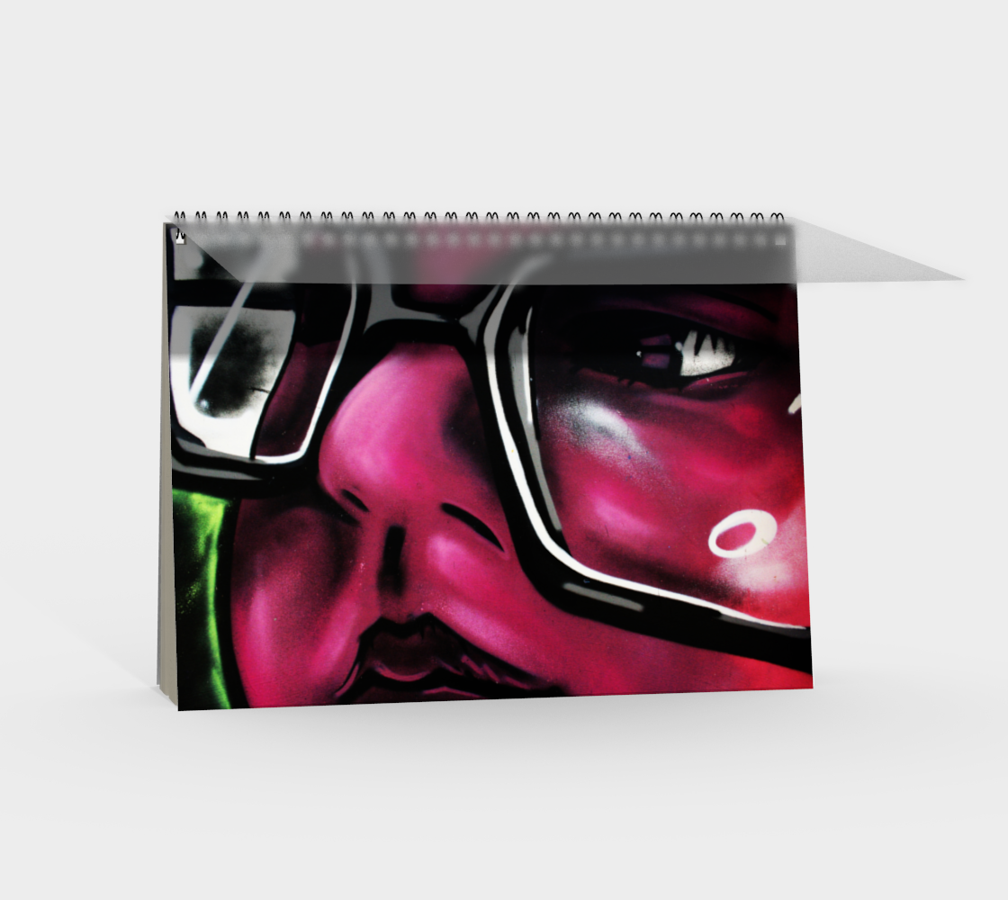 Graffiti 5 Spiral Notebook preview #2