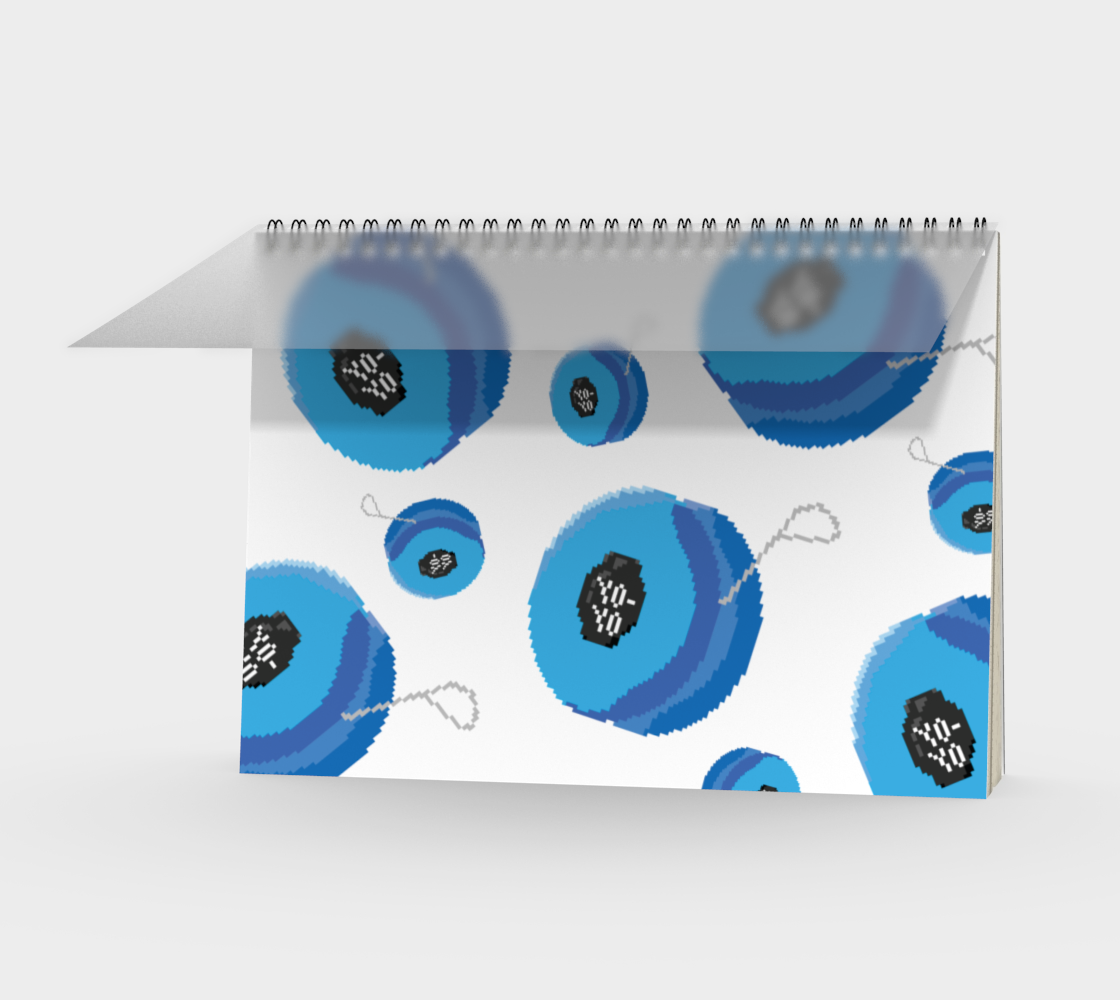 Aperçu de Yoyo Pixel Art Notebook