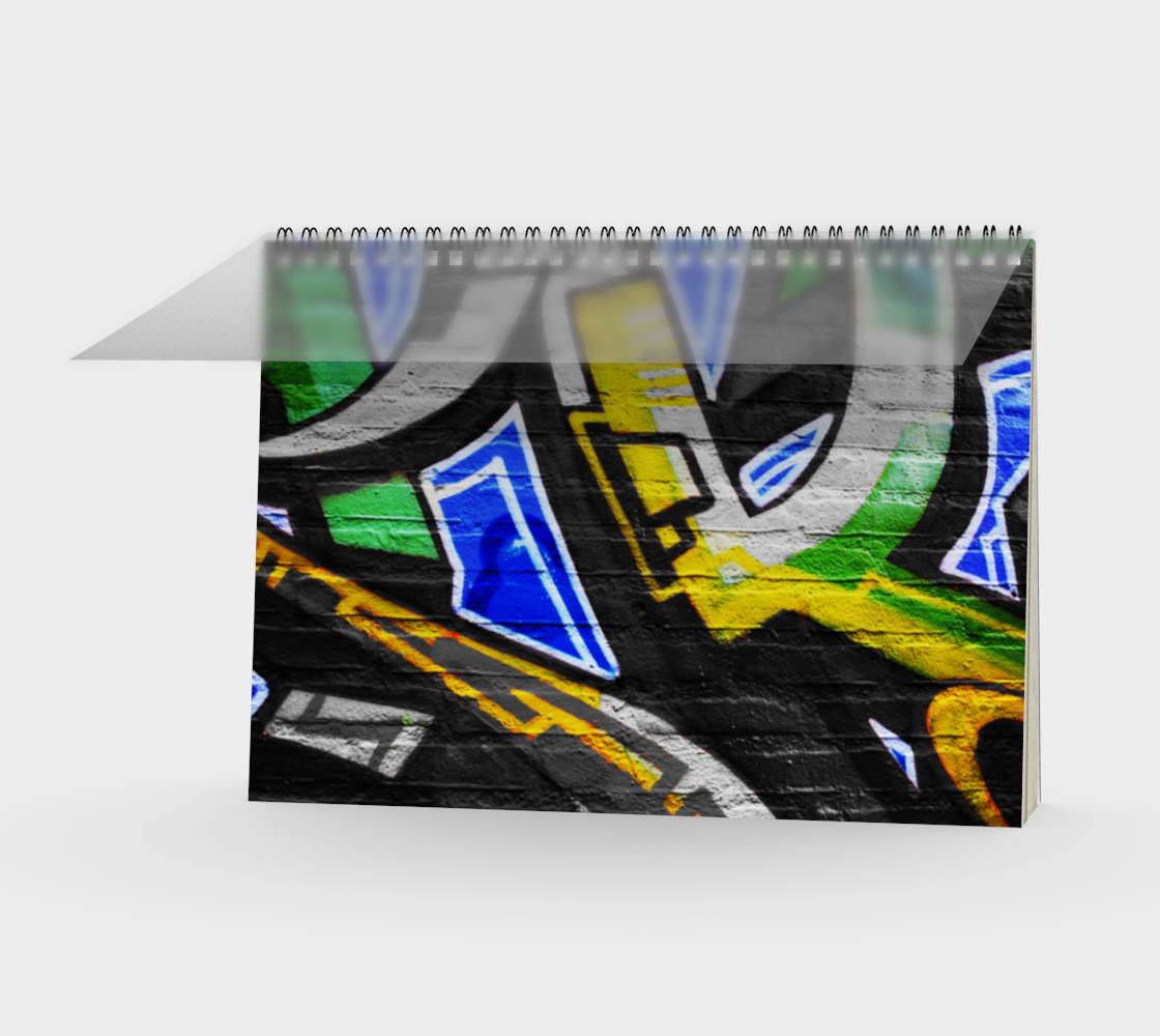 Graffiti 6 Spiral Notebook preview