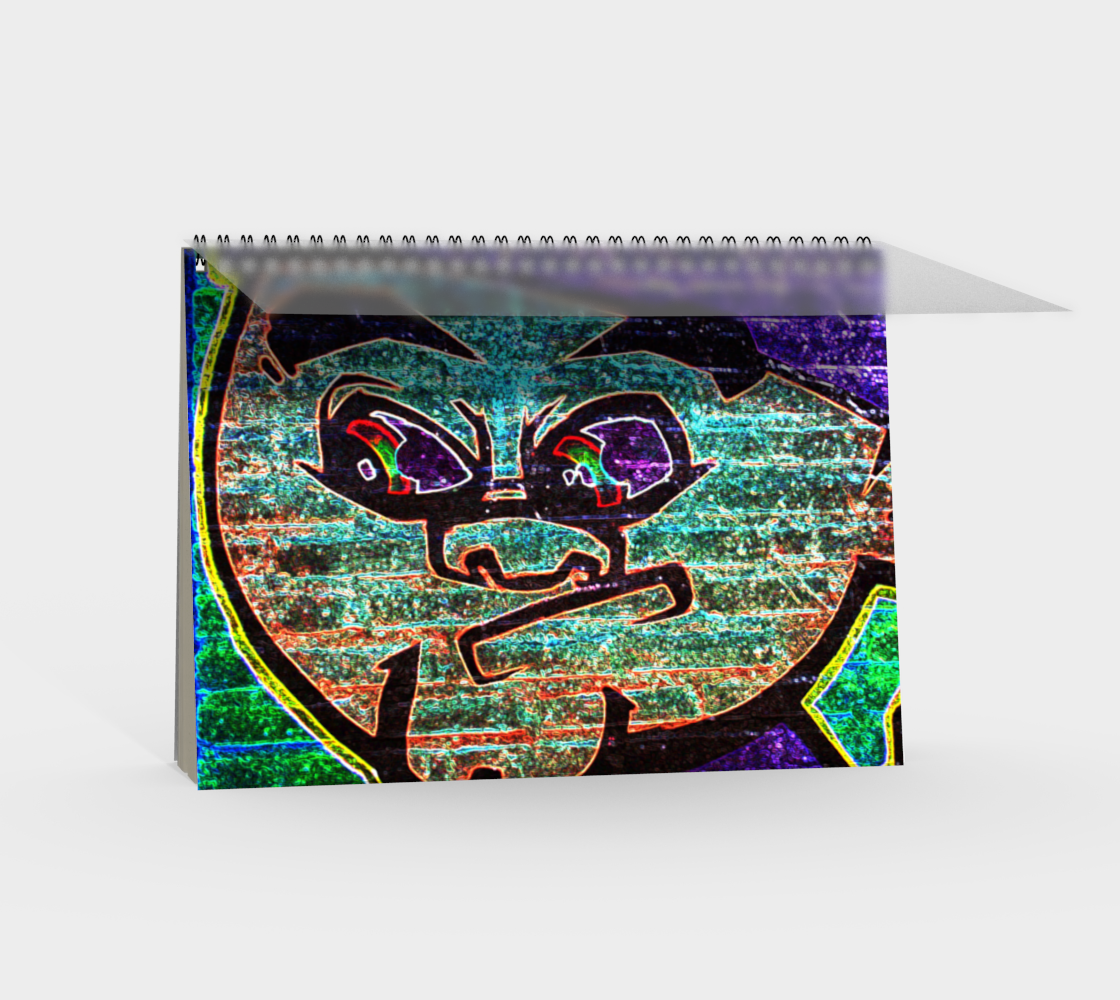 Graffiti 7 Spiral Notebook preview #2